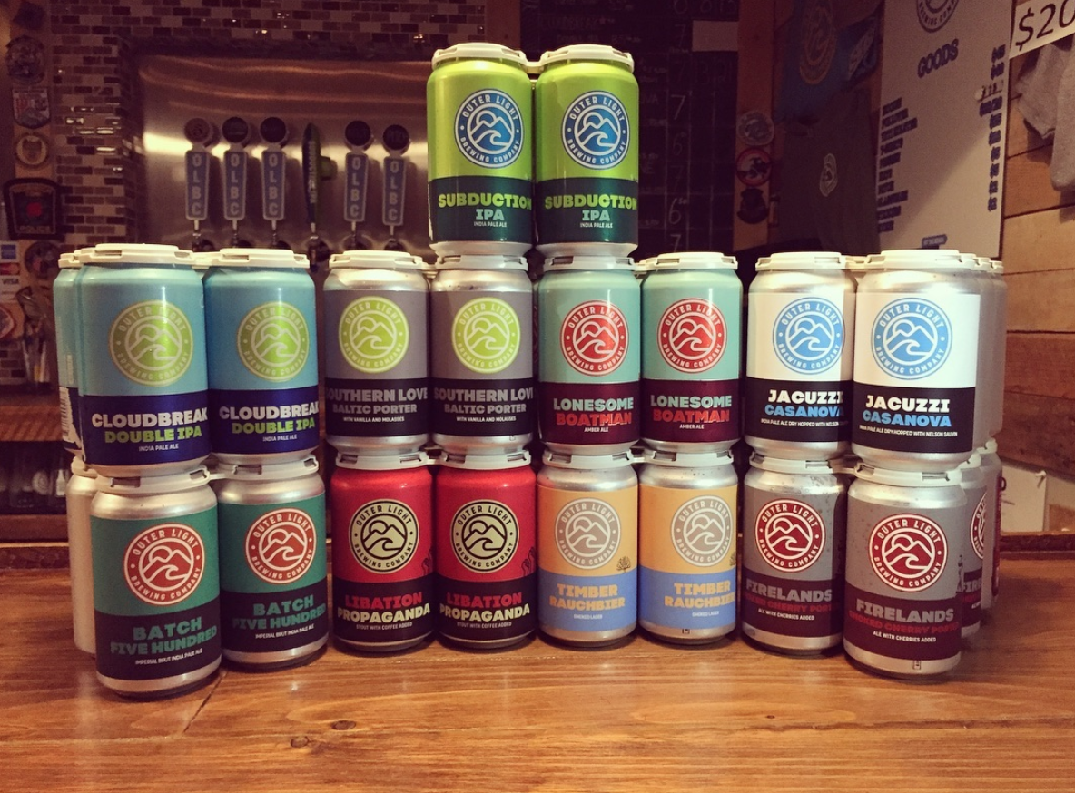 Outer Light Brewing Co beer