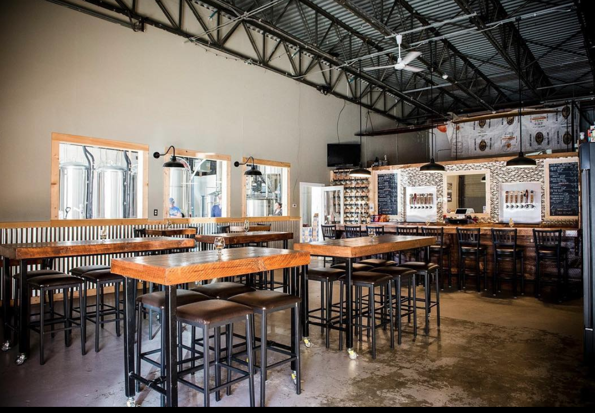 Outer Light Brewing Co interior