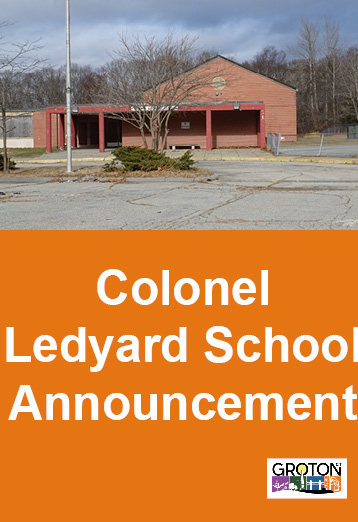 Colonel Ledyard School Announcement Photo - Click Here to See